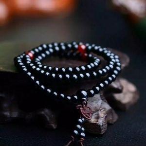 Mala Bead Sandalwood Bracelet Boho Meditation Yoga